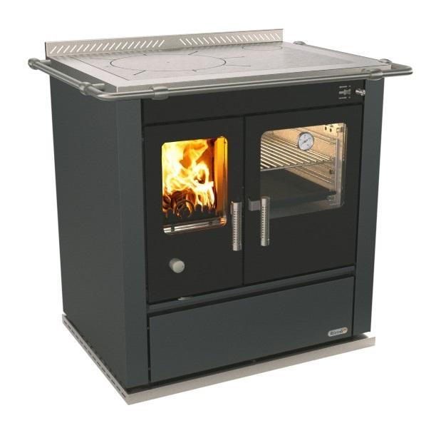Cucina a legna con forno Rizzoli S80 di Rizzoli Cucine ...