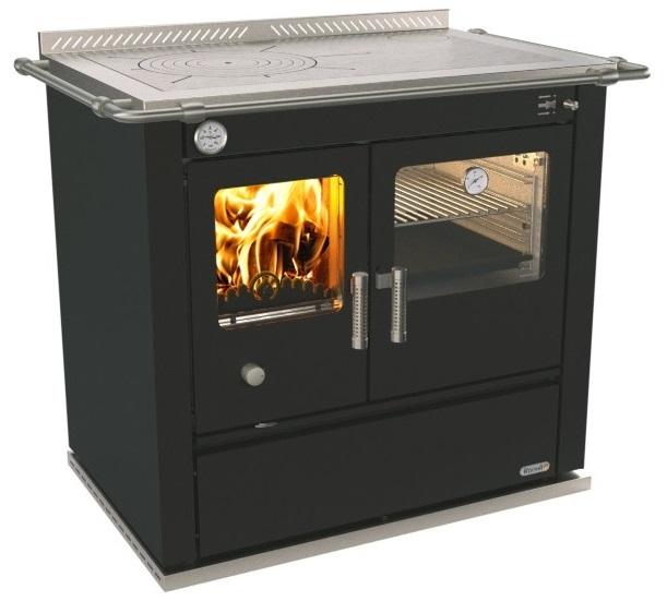 Termocucina con forno rizzoli st90 di rizzoli cucine - Stufe a legna per riscaldamento termosifoni ...